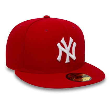 New York Yankees Essential Red 59FIFTY Cap