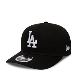 Los Angeles Dodgers Pre-Curved Black 9FIFTY Snapback