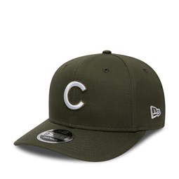 Chicago Cubs Pre-Curved Olive Green 9FIFTY Snapback