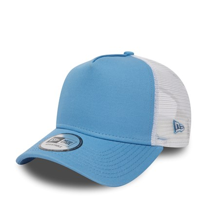 New Era Sky White A Frame Trucker