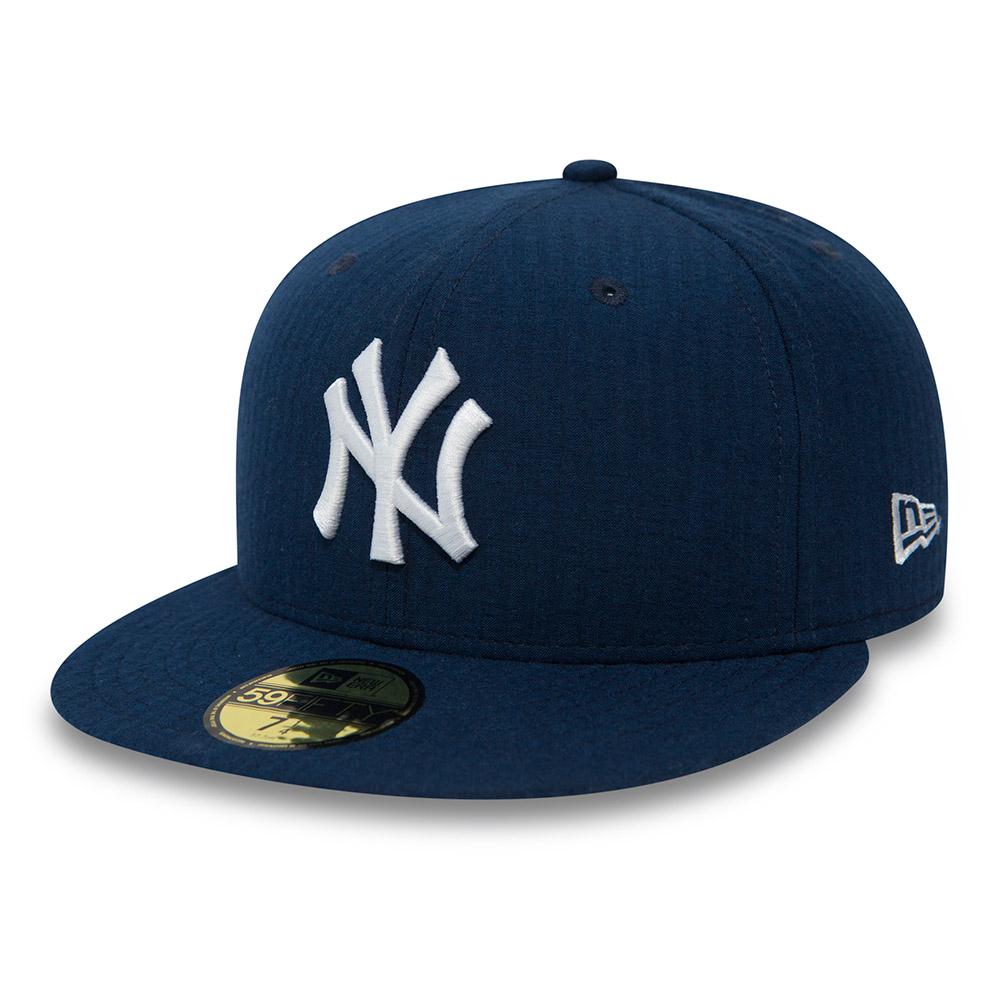 94e3a4a9f32c73 New York Yankees Seersucker Navy 59FIFTY | New Era
