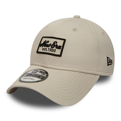 New Era Script Patch Stone 9FORTY