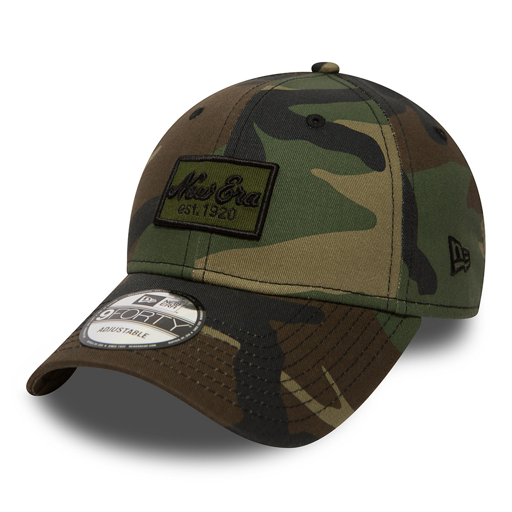 New Era Script Patch 9FORTY camouflage