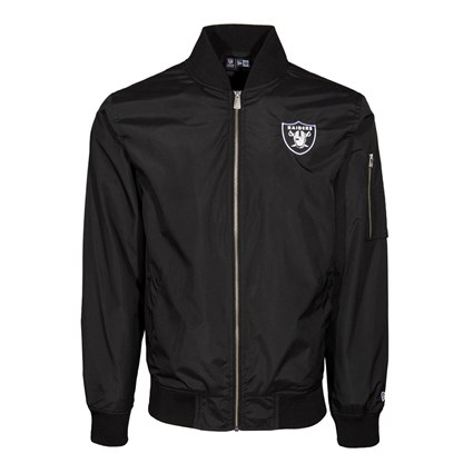 Oakland Raiders Concrete Bomber Jacket