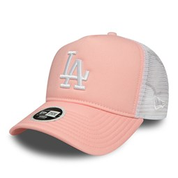 Los Angeles Dodgers Essential Womens Pink A Frame Trucker