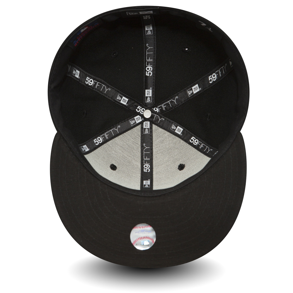 59FIFTY – LA Dodgers Essential – Schwarz