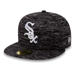 Chicago White Sox Engineered Fit Black 59FIFTY