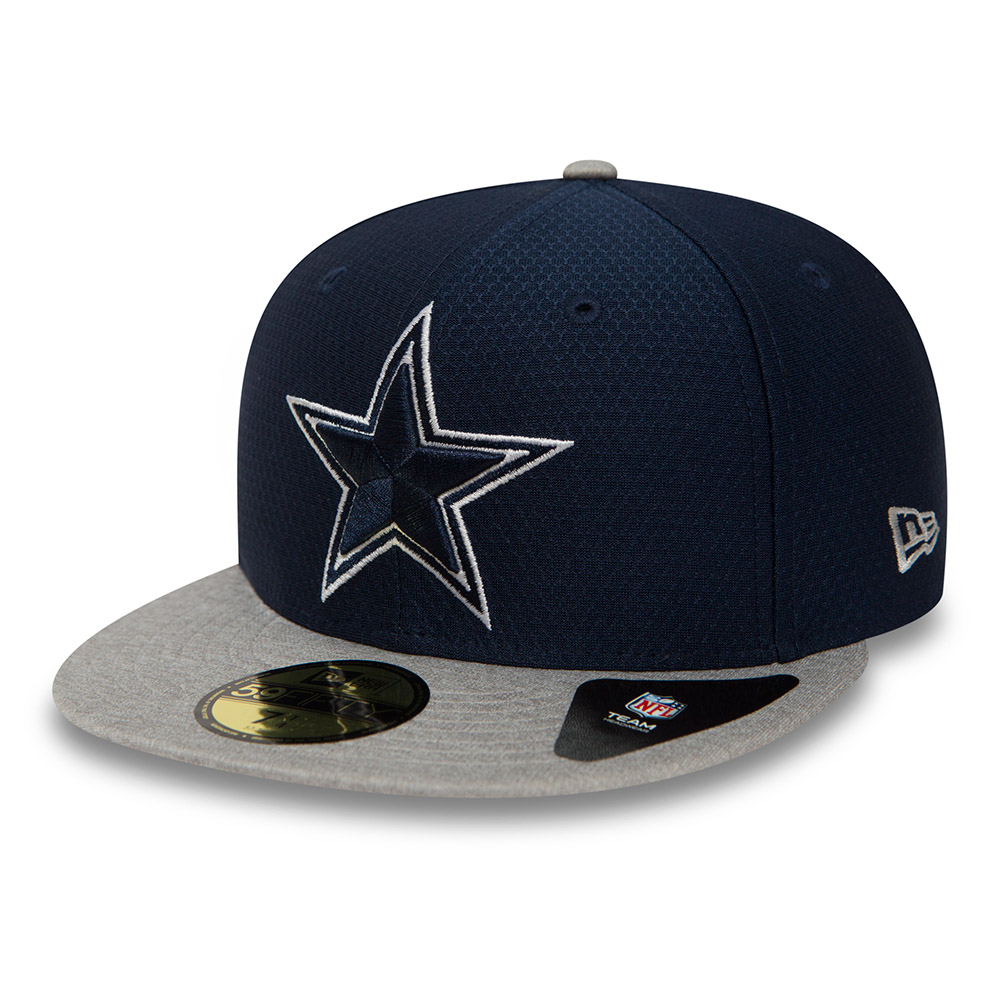 59FIFTY – Dallas Cowboys Dry Era Tech – Marineblau