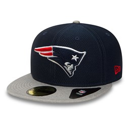 New England Patriots Dry Era Tech 59FIFTY, azul marino