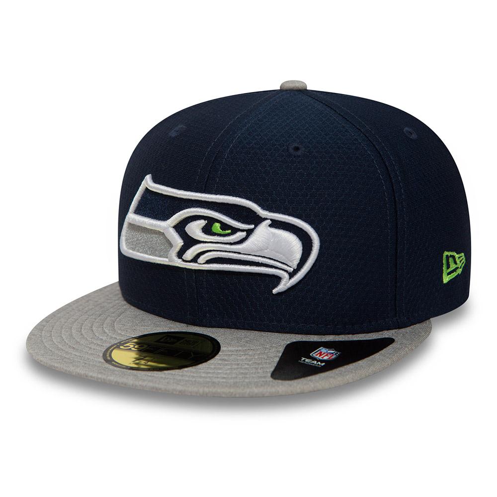 59FIFTY – Seattle Seahawks Dry Era Tech – Marineblau