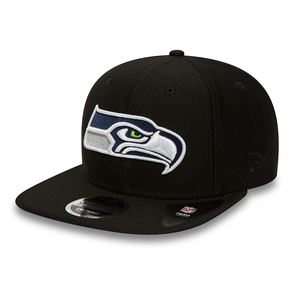 Seattle Seahawks Dry Era Tech Original Fit 9FIFTY Snapback noir