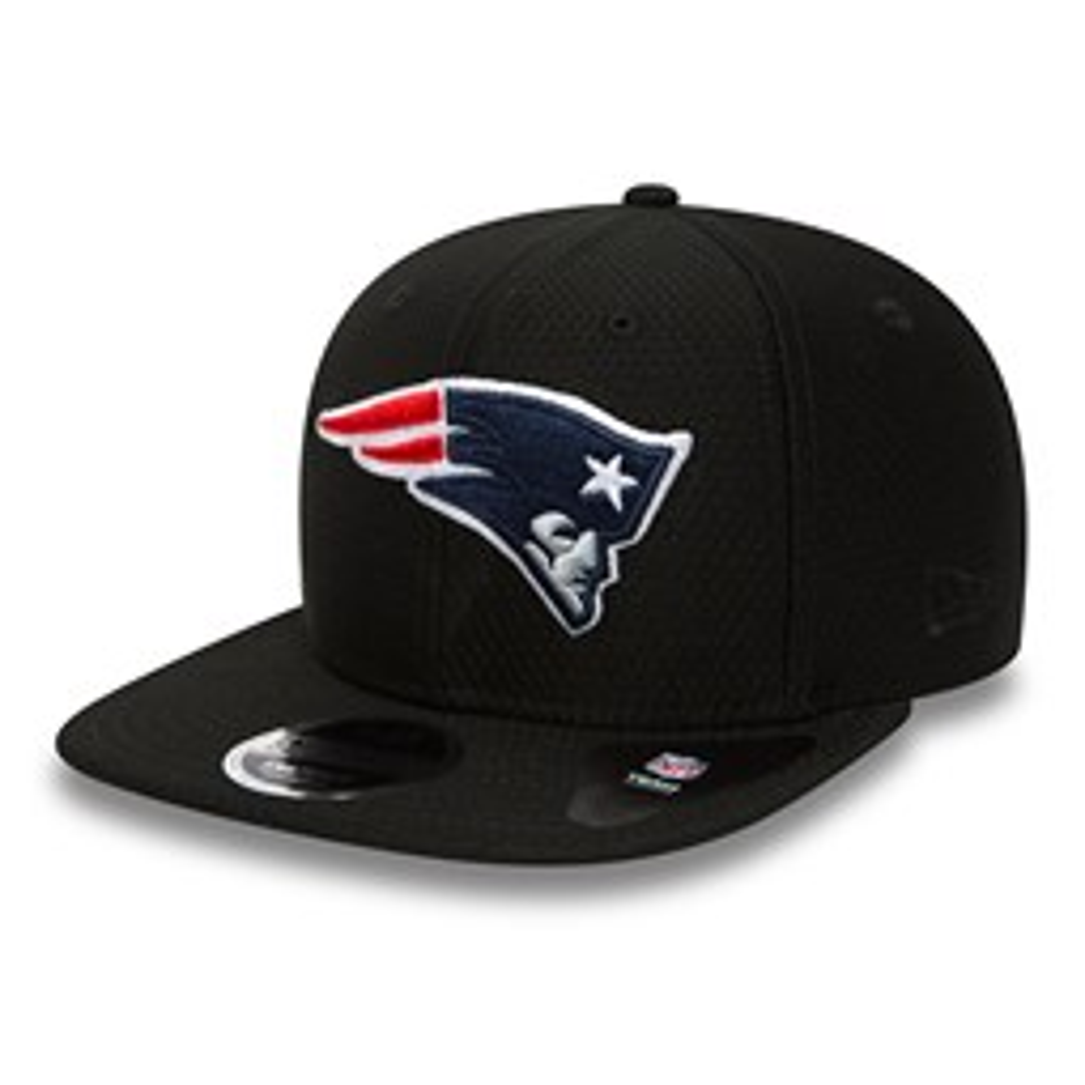 9FIFTY – New England Patriots – Dry Era Tech – Original Fit – Schwarz