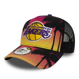 Gorra trucker Los Angeles Lakers Coastal Heat A Frame