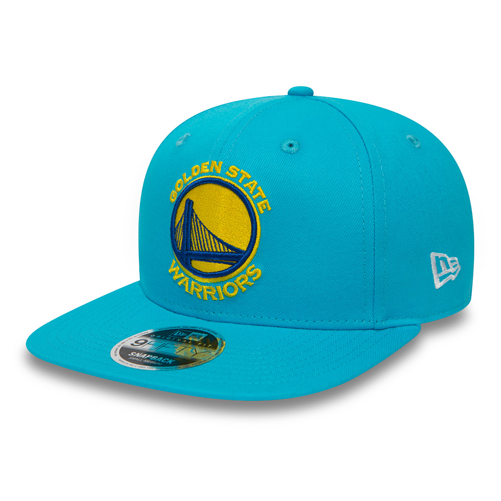 Golden State Warriors Coastal Heat Original Fit 9FIFTY Vice Blue Snapback