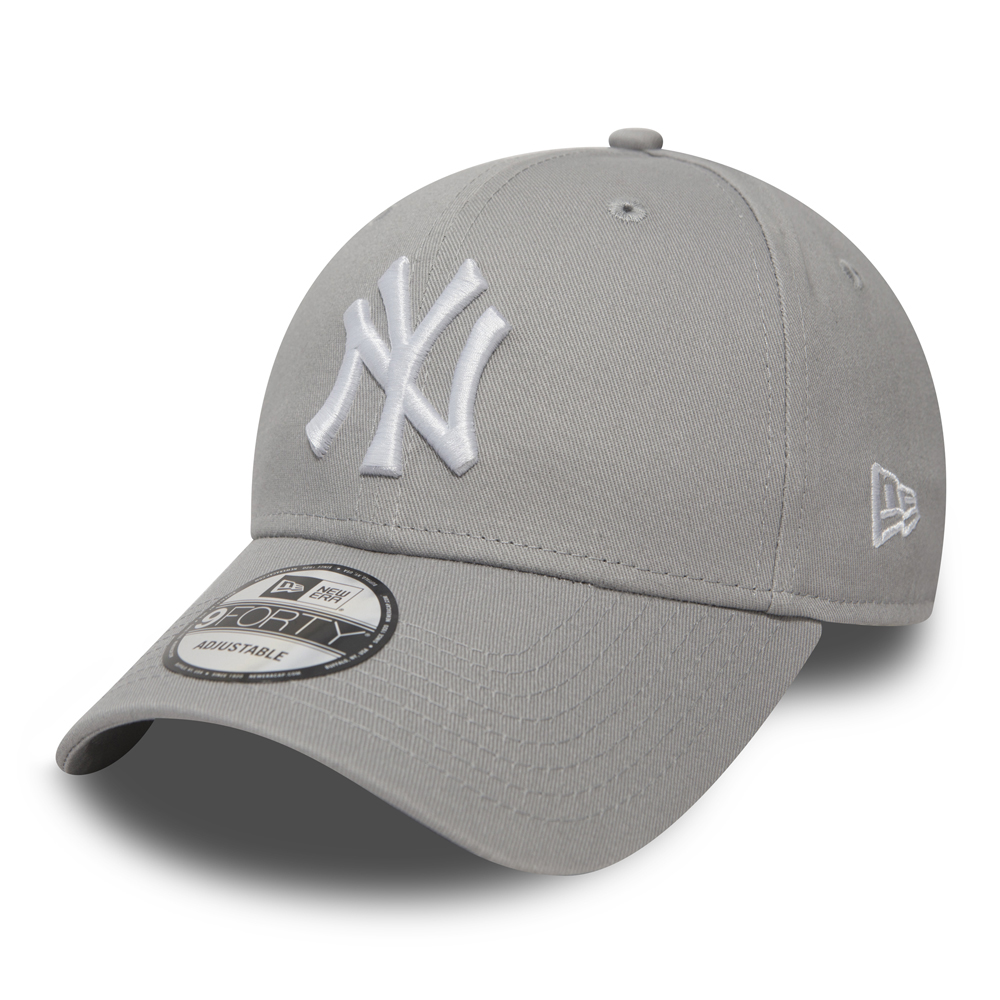 NY Yankees Essential Grey 9FORTY