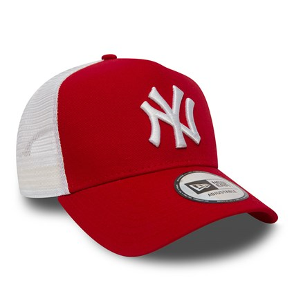 New York Yankees  Clean A Frame Red Trucker