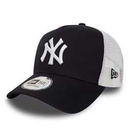 New York Yankees Clean Trucker mi-droit bleu marine