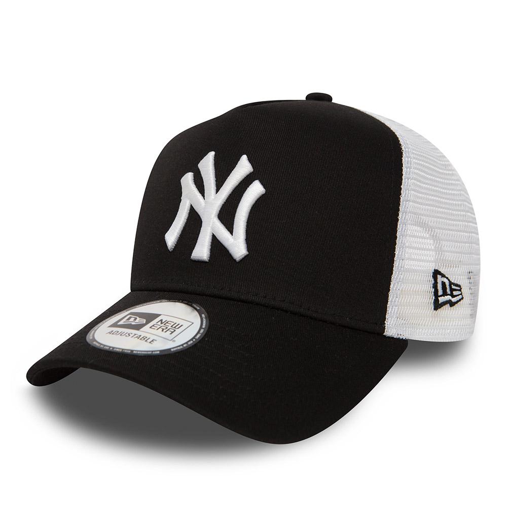 New York Yankees Clean Trucker mi-droit noir