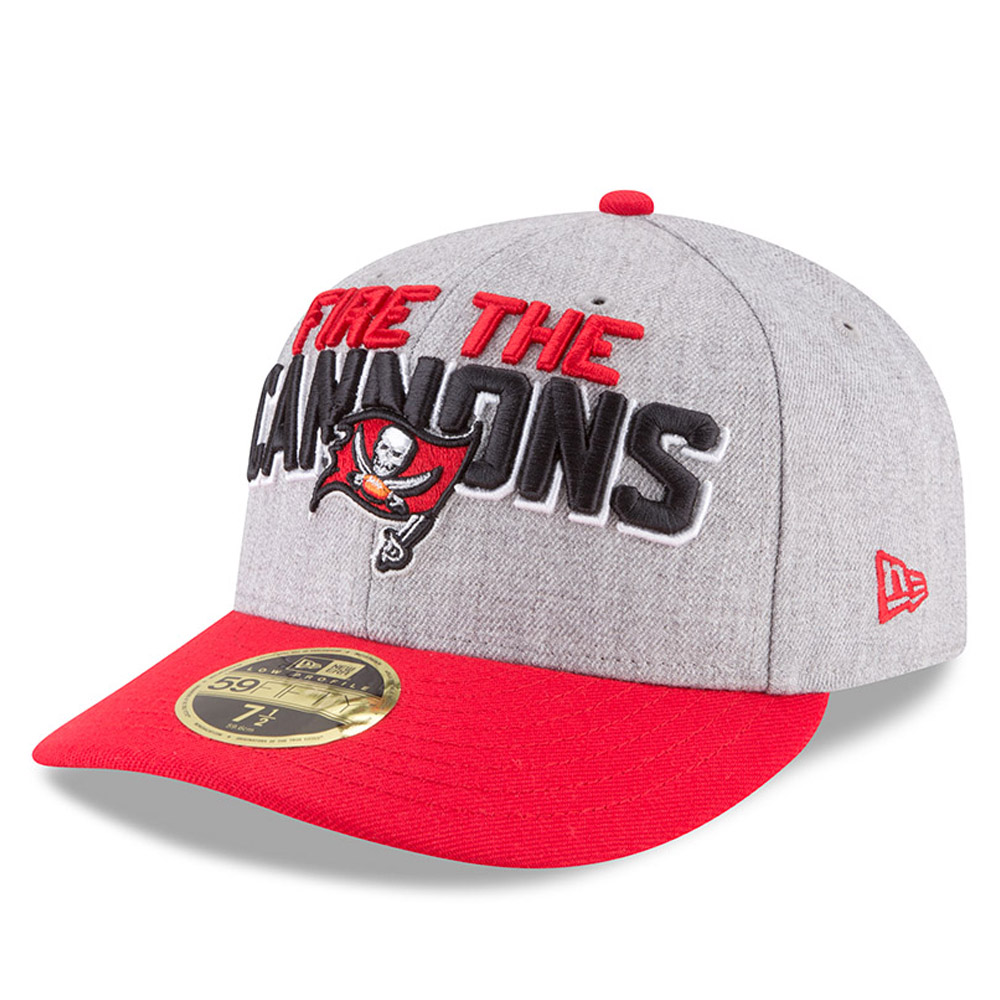 Tampa Bay Buccaneers 2018 NFL On-Stage Draft Low Profile 59FIFTY ... 760ddd134b0