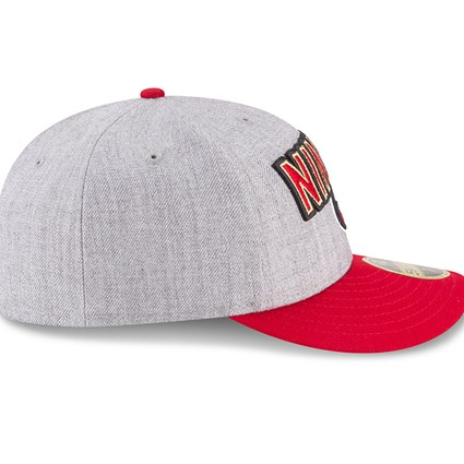 cheap for discount 00036 9f480 ... San Francisco 49ers 2018 NFL On-Stage Draft Low Profile 59FIFTY
