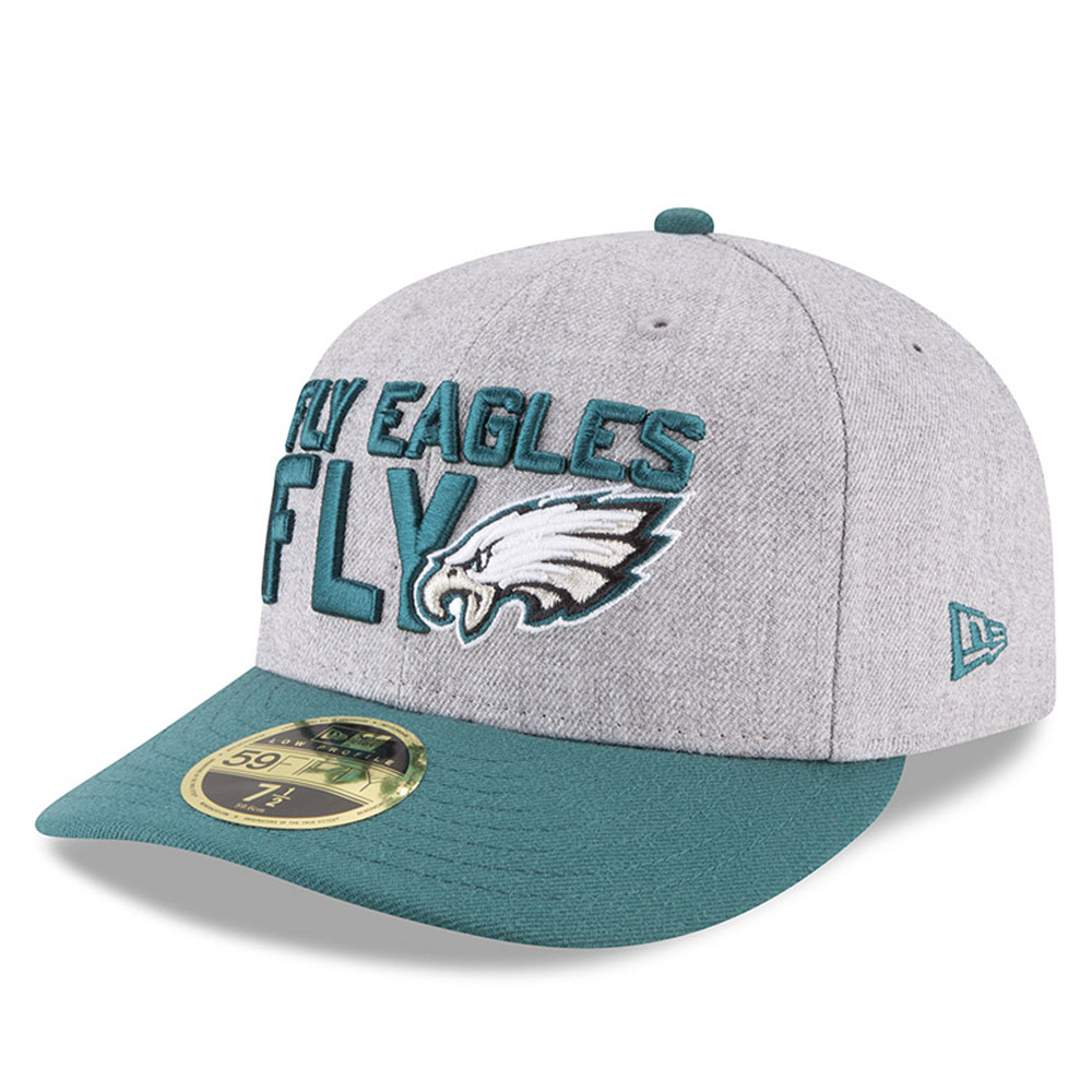 Philadelphia Eagles 2018 NFL On-Stage Draft Low Profile 59FIFTY
