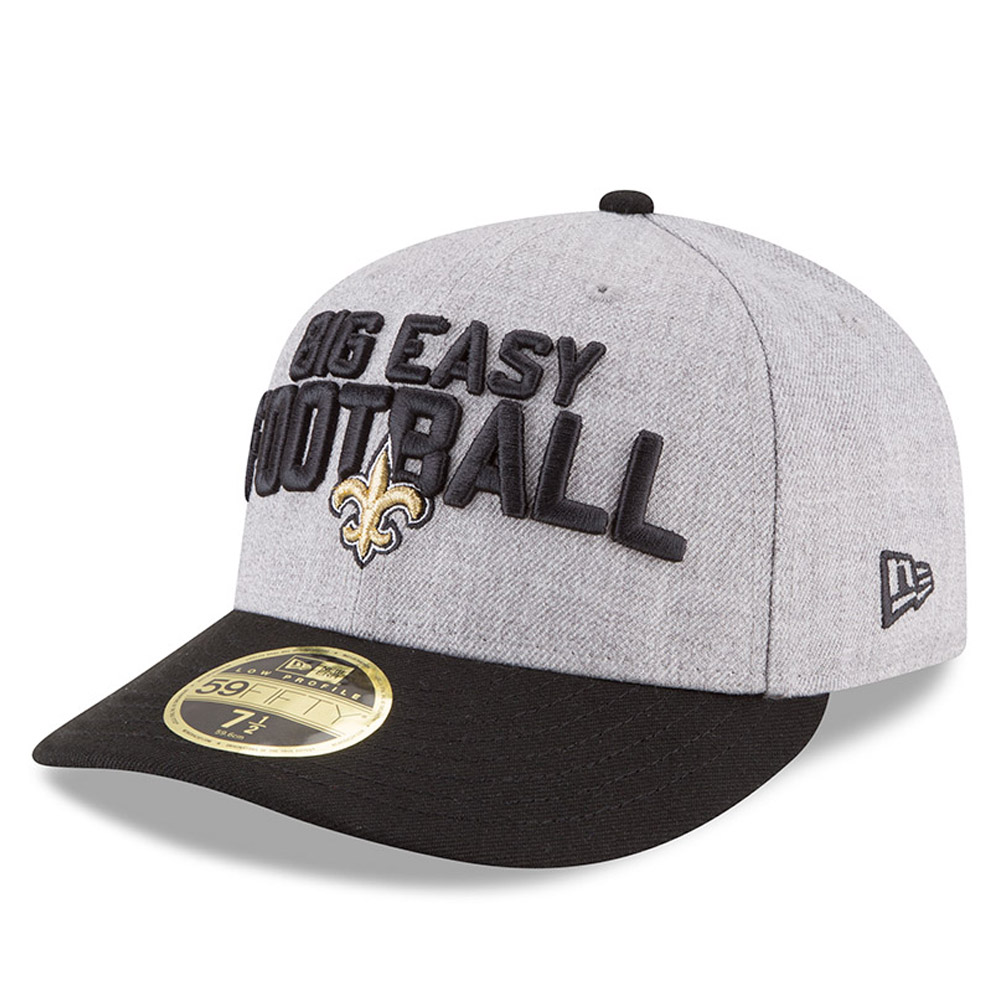New Orleans Saints 2018 NFL On-Stage Draft Low Profile 59FIFTY