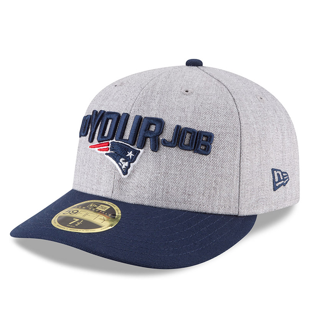 New England Patriots 2018 NFL On-Stage Draft Low Profile 59FIFTY