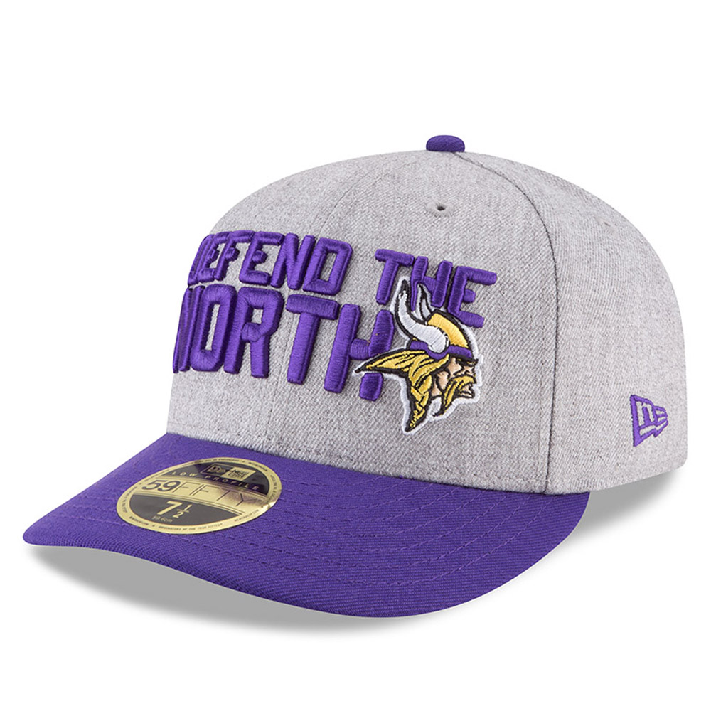 Minnesota Vikings 2018 NFL On-Stage Draft Low Profile 59FIFTY