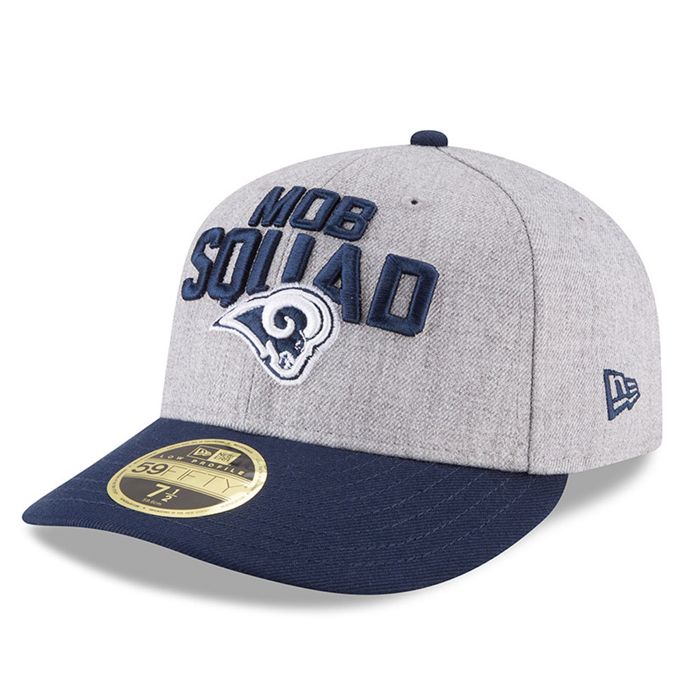 Los Angeles Rams 2018 NFL On-Stage Draft Low Profile 59FIFTY