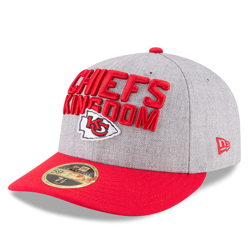 Kansas City Chiefs 2018 NFL On-Stage Draft Low Profile 59FIFTY