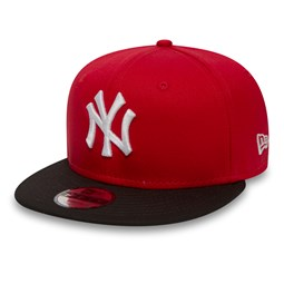 NY Yankees Cotton Block Kids 9FIFTY Snapback