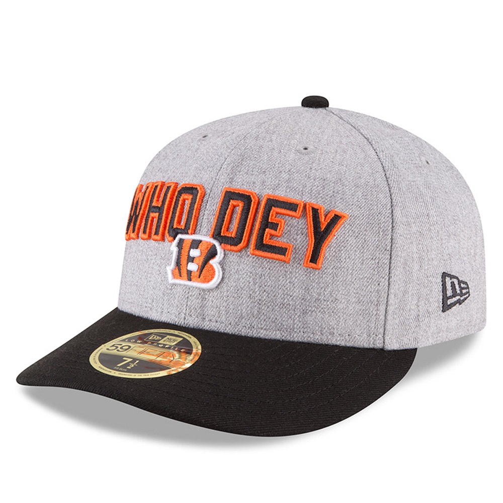 Cincinnati Bengals 2018 NFL On-Stage Draft Low Profile 59FIFTY