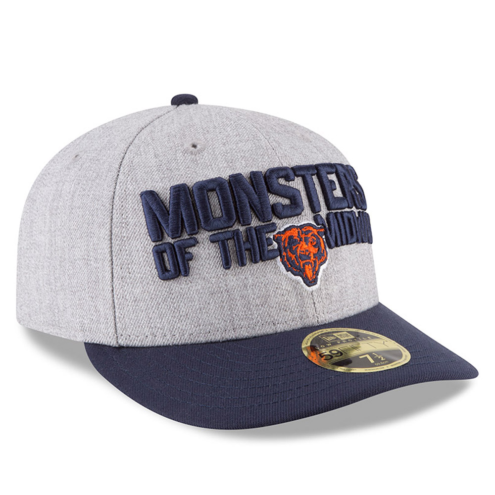 Chicago Bears 2018 NFL On-Stage Draft Low Profile 59FIFTY  7ca833c3cf86