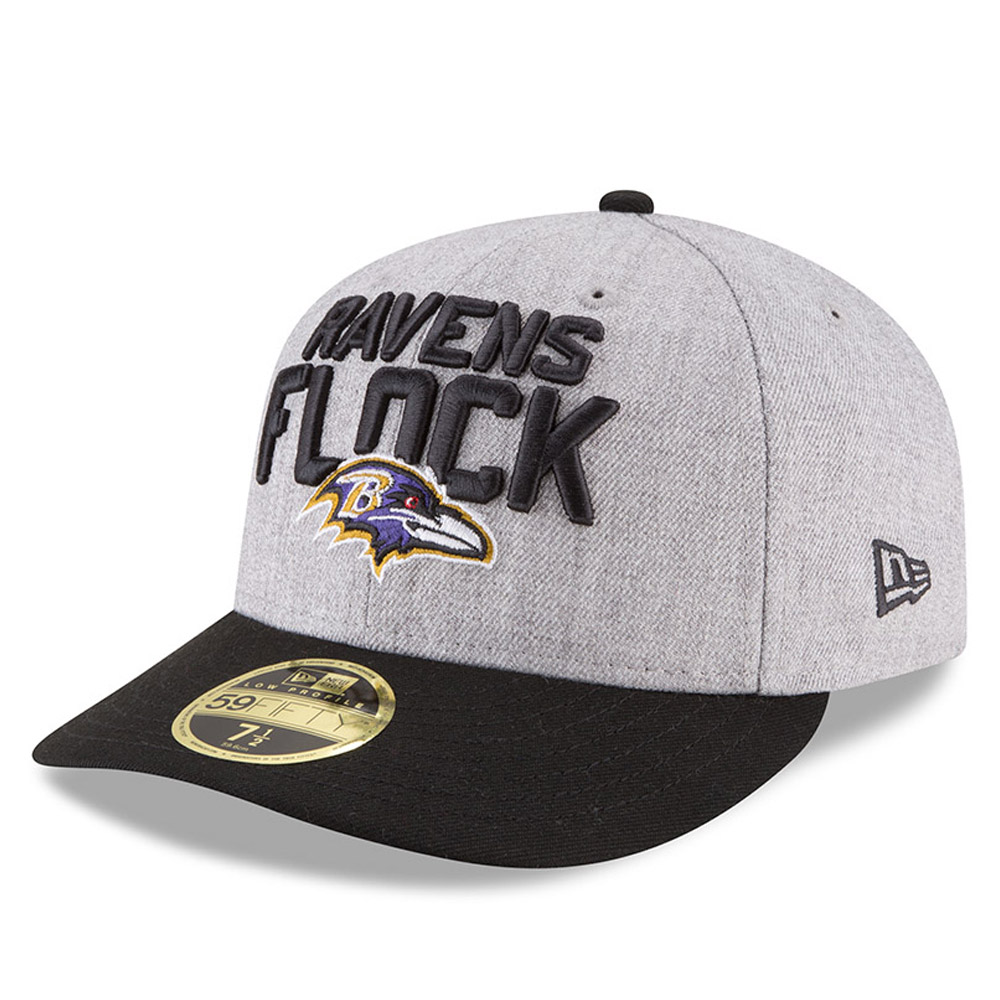 Baltimore Ravens 2018 NFL On-Stage Draft Low Profile 59FIFTY