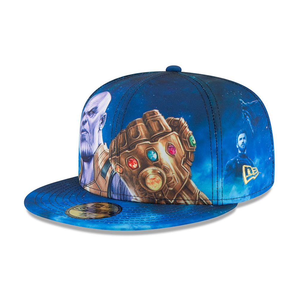 Cappellino 59FIFTY Avengers Infinity War con stampa