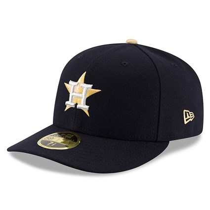 Houston Astros Gold Collection Low Profile 59FIFTY