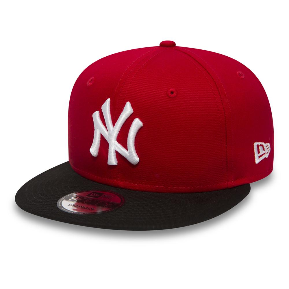 9FIFTY Snapback – NY Yankees Cotton Block – Rot