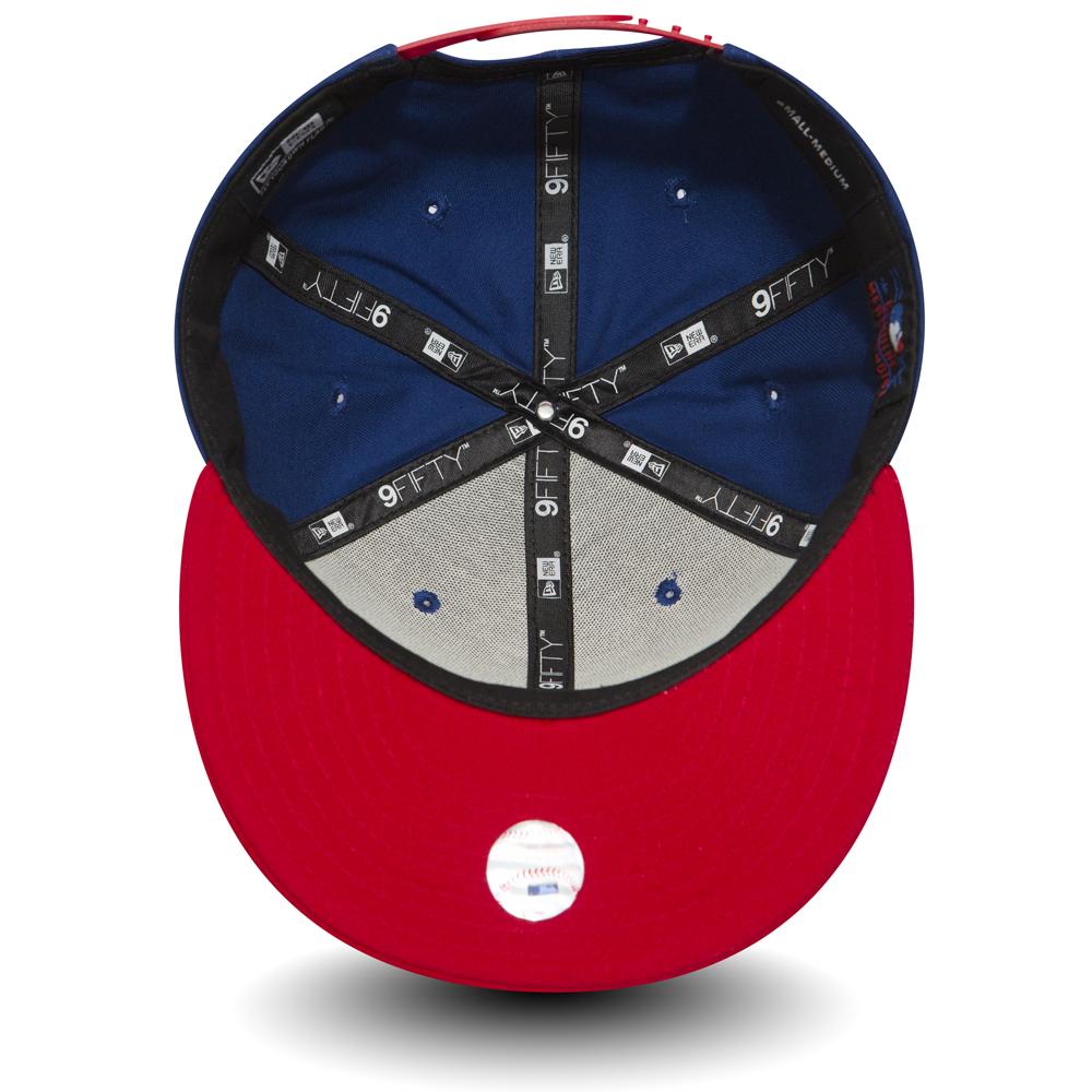 NY Yankees Cotton Block 9FIFTY Snapback f01d9f4175c