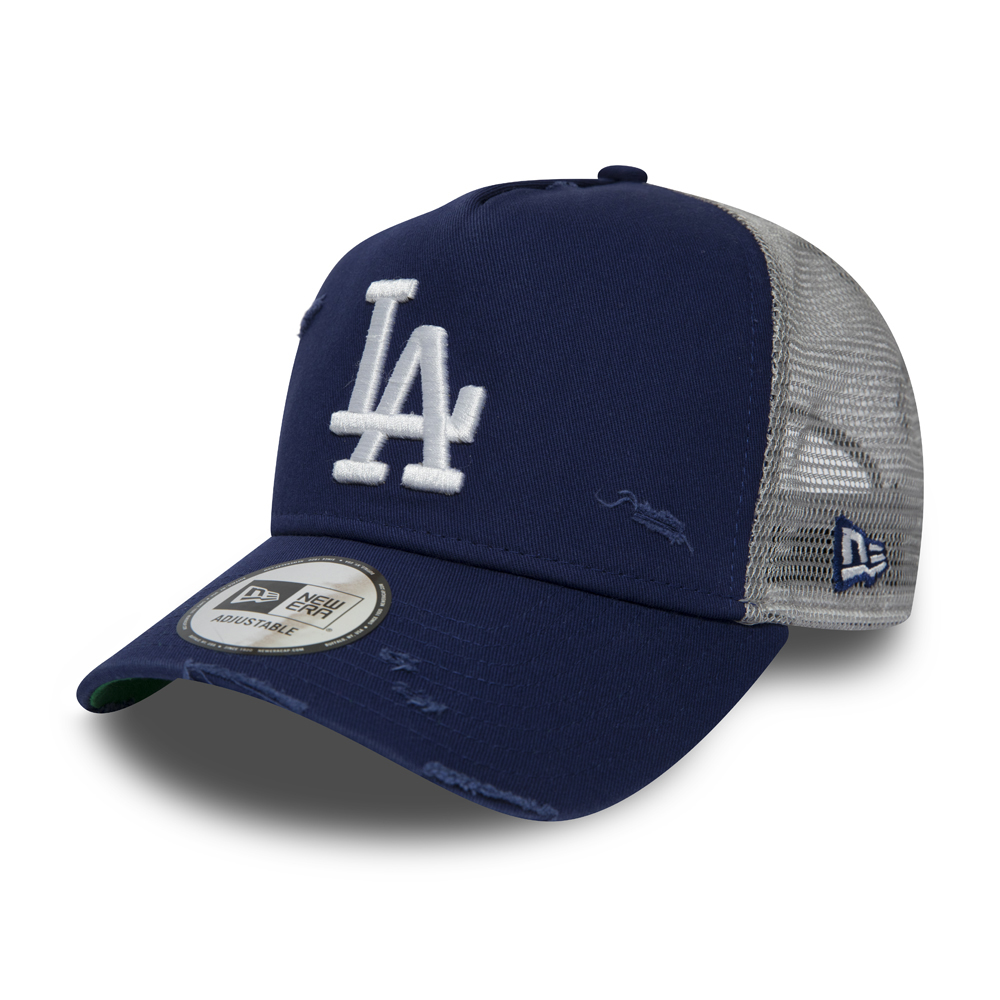 Gorra trucker Los Angeles Dodgers Distressed A Frame