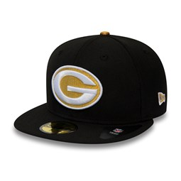 Green Bay Packers Gold Metal 59FIFTY