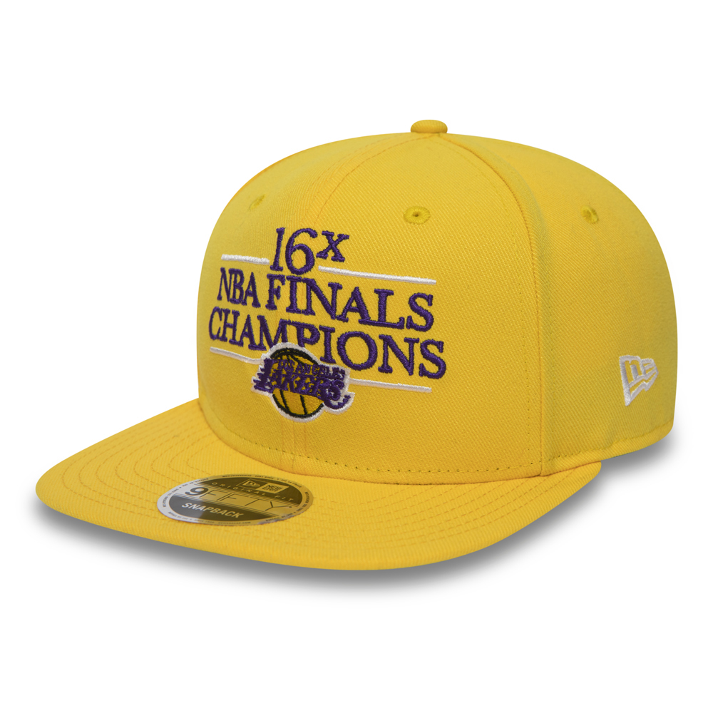 9FIFTY Snapback – Los Angeles Lakers – Champions Timeline