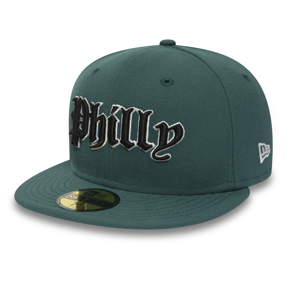 Philadelphia Eagles Gothic Pine Needle Green 59FIFTY