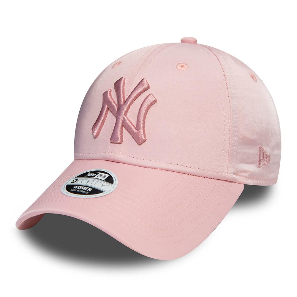 3ac15e0874d9 New York Yankees Womens Satin Pink 9FORTY   New Era