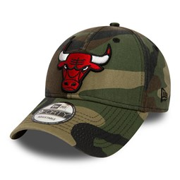 Chicago Bulls 9FORTY, camo desgastado