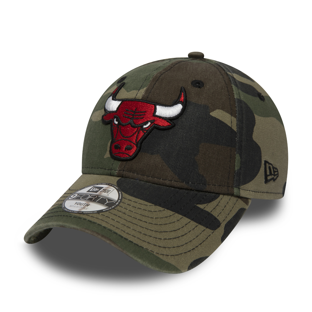 Chicago Bulls Washed Camo 9FORTY enfant