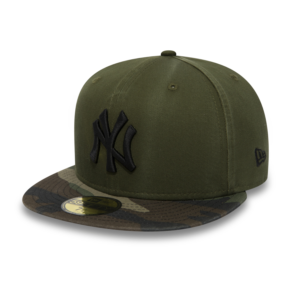 59FIFTY – New York Yankees – Camouflage mit Waschung