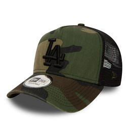 Los Angeles Dodgers Washed Camo A Frame Trucker