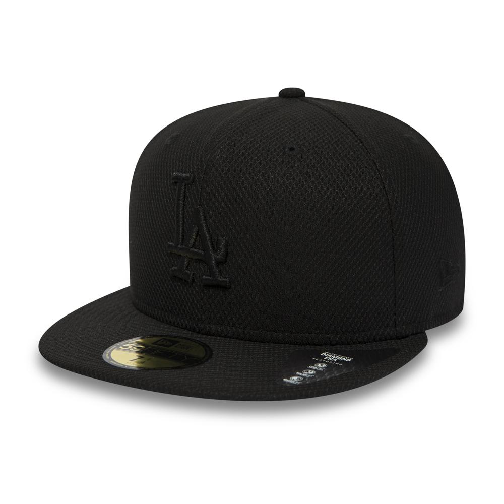 59FIFTY – Los Angeles Dodgers – Diamond Era – Black on Black