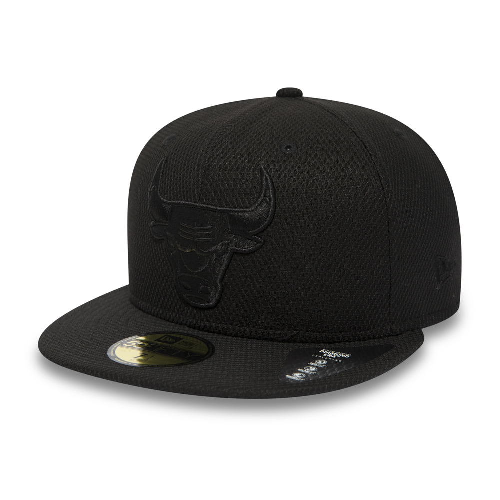 Chicago Bulls Diamond Era Black on Black 59FIFTY