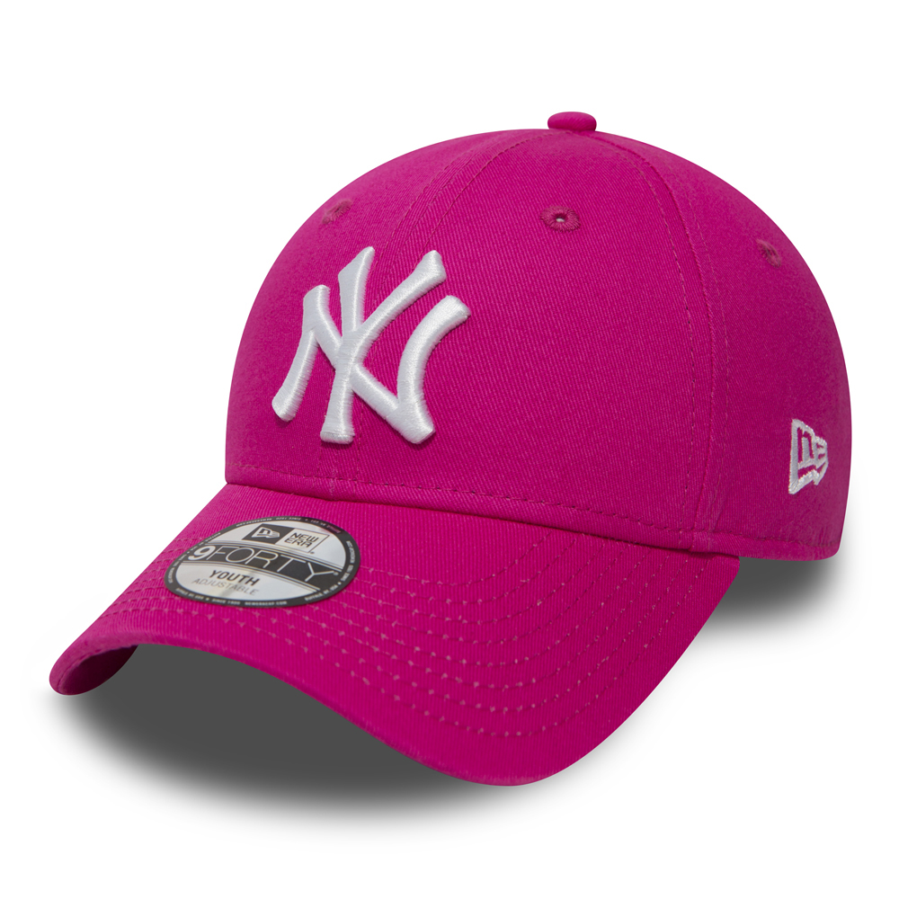 NY Yankees Essential 9FORTY niño, rosa